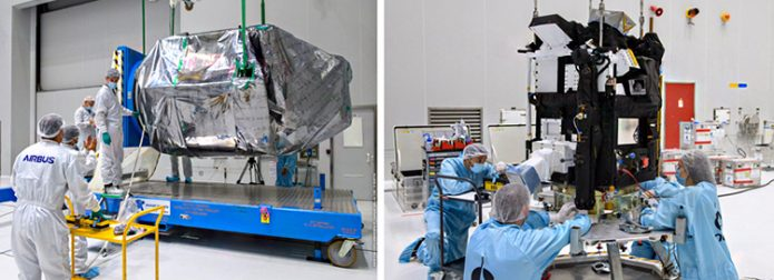 Earth-imaging and scientific payloads arrive for Arianespace's Vega mission in November
