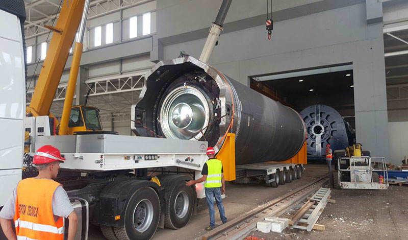 Avio tests P120C rocket motor casing