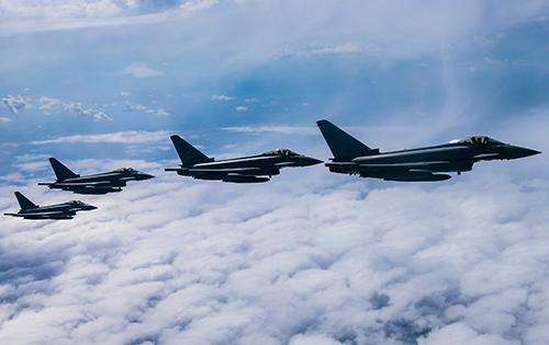 RAF Typhoons deploy for Asia-Pacific exercises