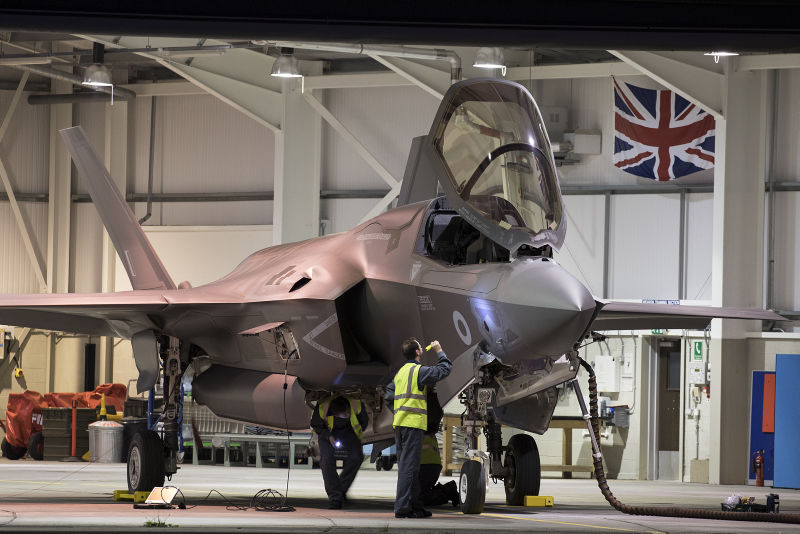 First UK F-35Bs touch down at home base
