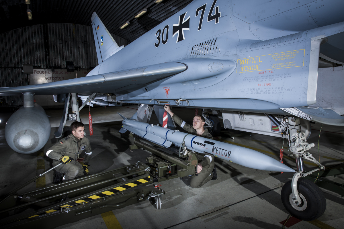 MBDA provides Germany with additional Meteor missiles