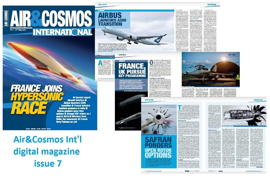 Air&Cosmos Int'l digital magazine issue 7 is available online