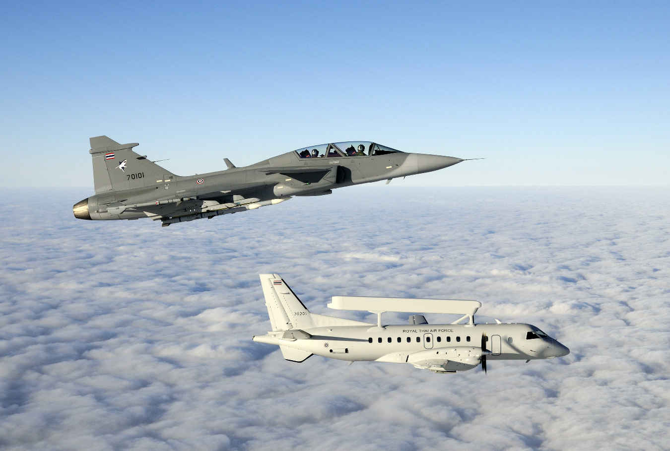 Saab to upgrade Thai Air Command and Control