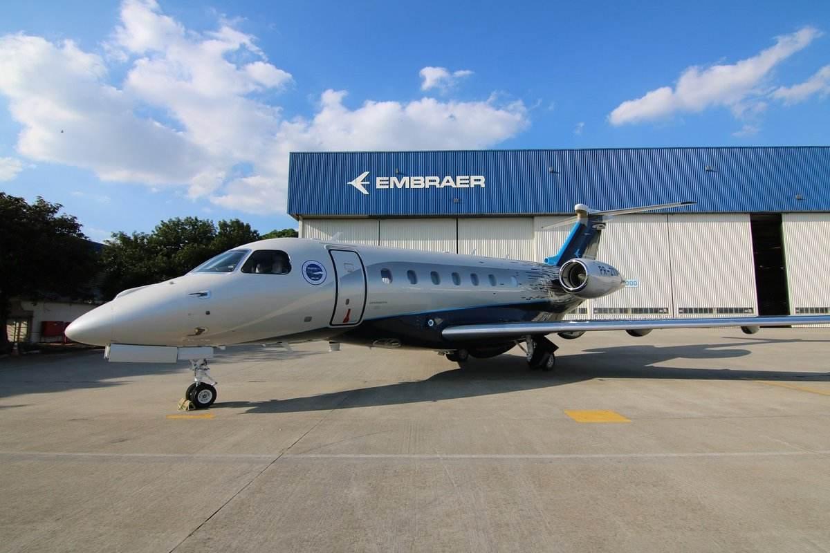 Embraer's Praetor 500 gets its type certification