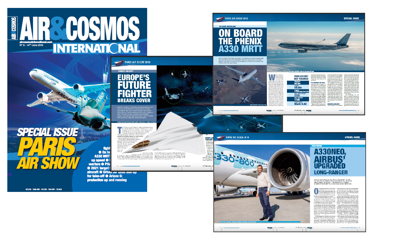 FCAS, Airbus A330neo, MRTT, Joint Light Helicopter, ... and much more in Air&Cosmos International mag issue 8