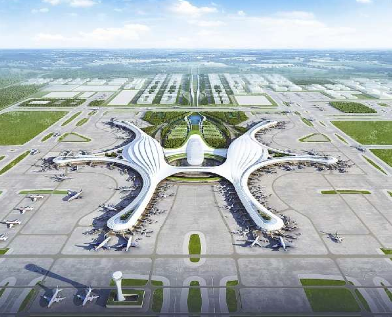 Construction starts on new Chengdu Airport