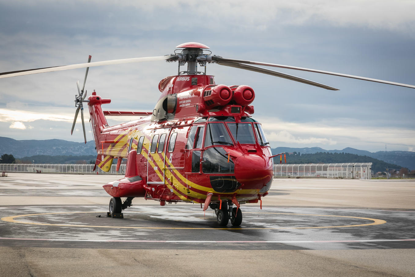 China receives first Airbus H215 helicopter