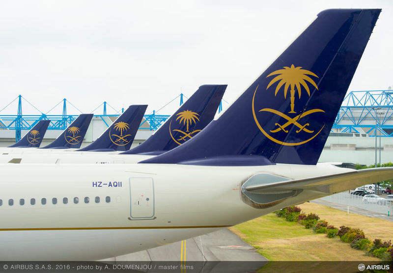 Saudi Arabian Airlines announces Airbus, Boeing orders
