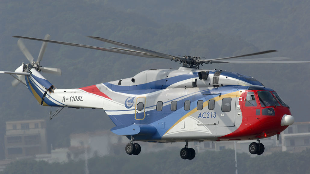 Meggitt to supply HUMS system for Chinese helos