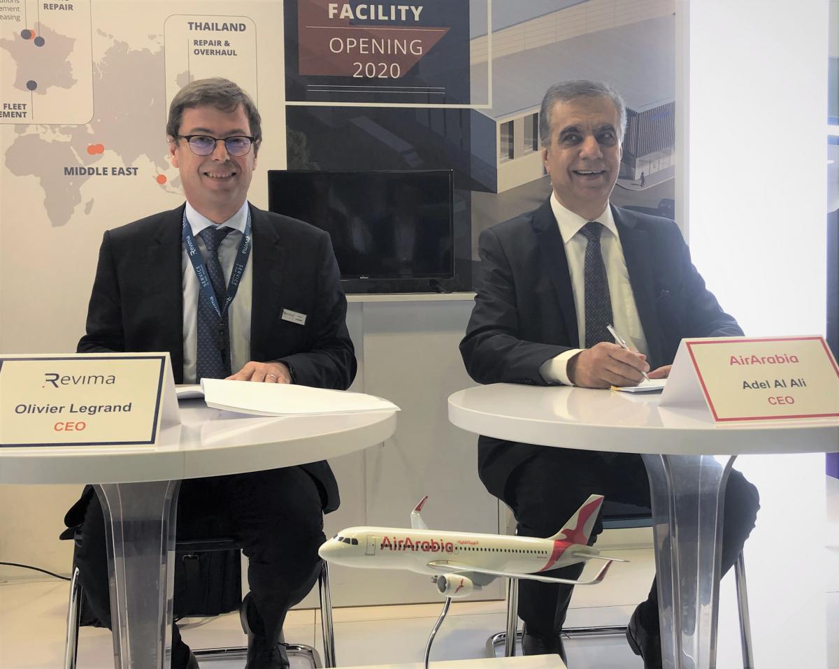 MRO: Air Arabia selects Revima Group