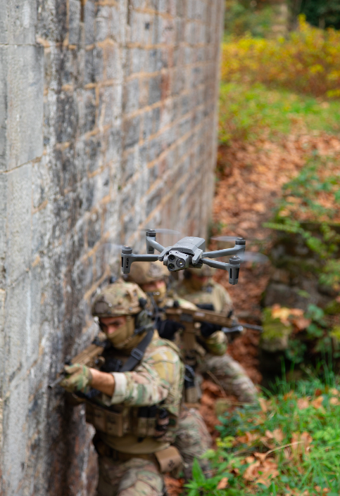 UAV Parrot for French Army