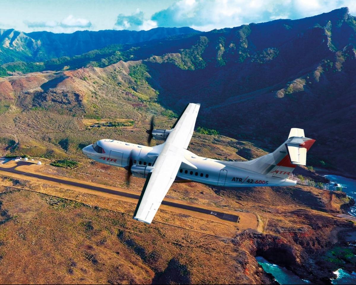 ATR 42-600S: towards a first flight in 2023
