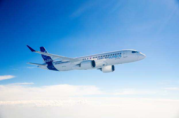 Airbus brings its A220 in Asia