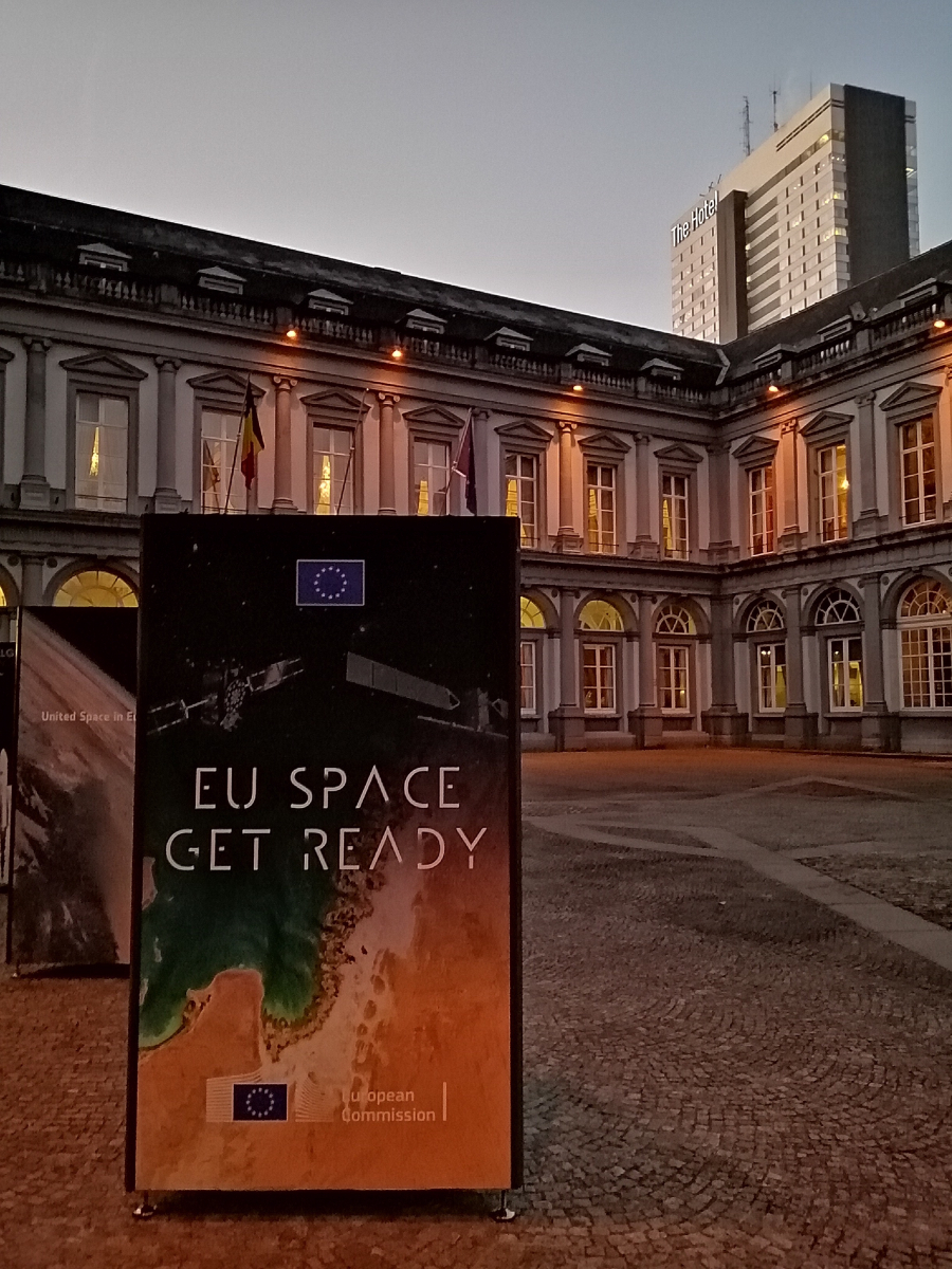 The European space gathered in Brussels