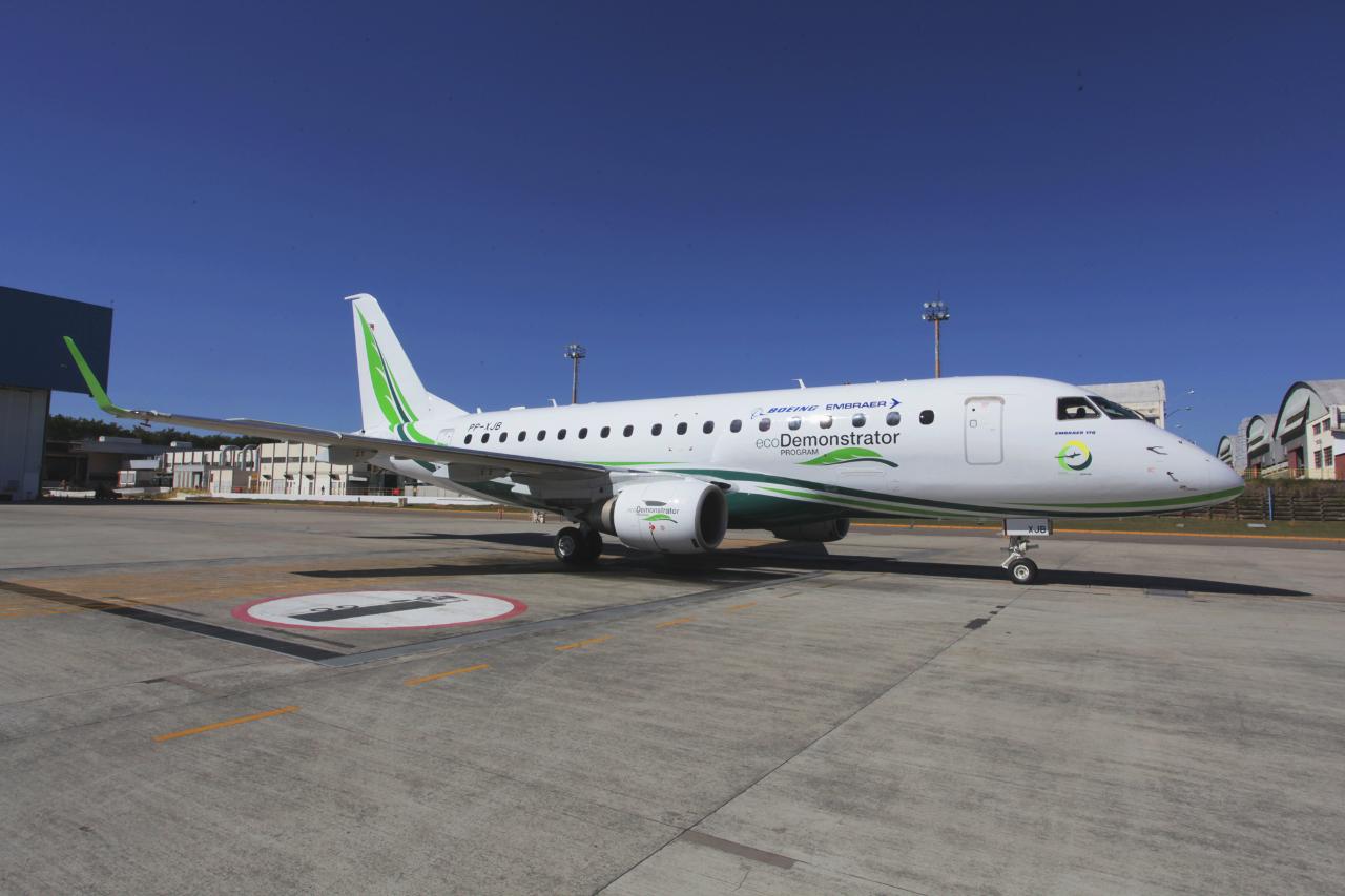 Embraer joins Boeing ecoDemonstrator programme