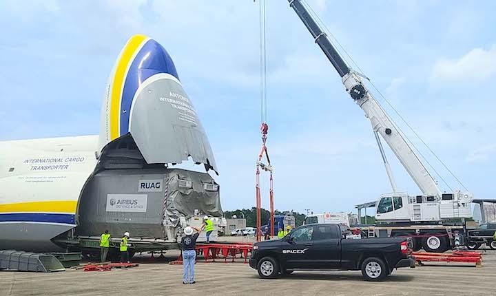 Bolloré Logistics delivers Airbus satellite in An-124