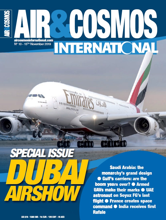Air&Cosmos Int'l digital mag issue 10 is available. Dubai Airshow, Indian Rafale and helicopter focus