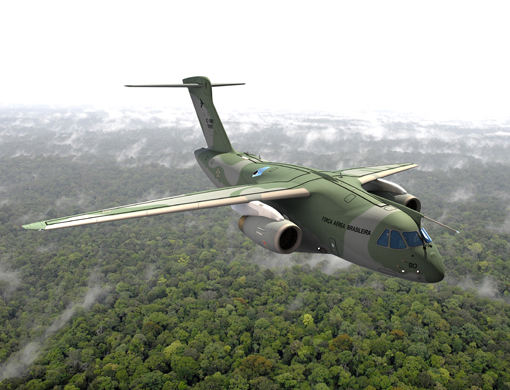 Embraer delivers the first KC-390 to the Brazilian Air Force