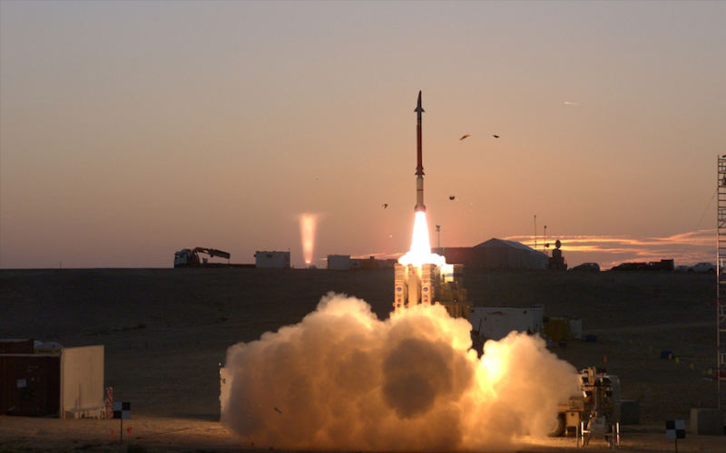 Israel and U.S. test David's Sling system