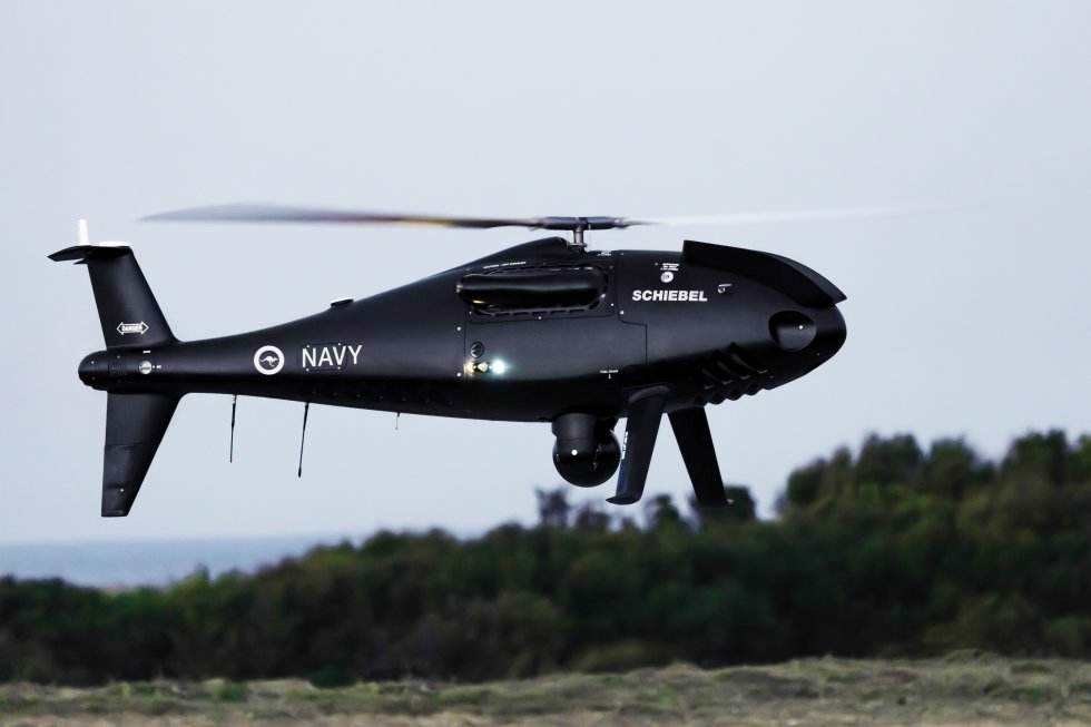 Camcopter completes Australian Navy heavy fuel demo