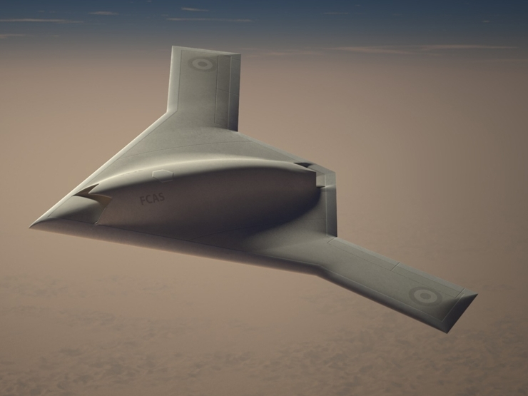UK-French combat drone project moves forward