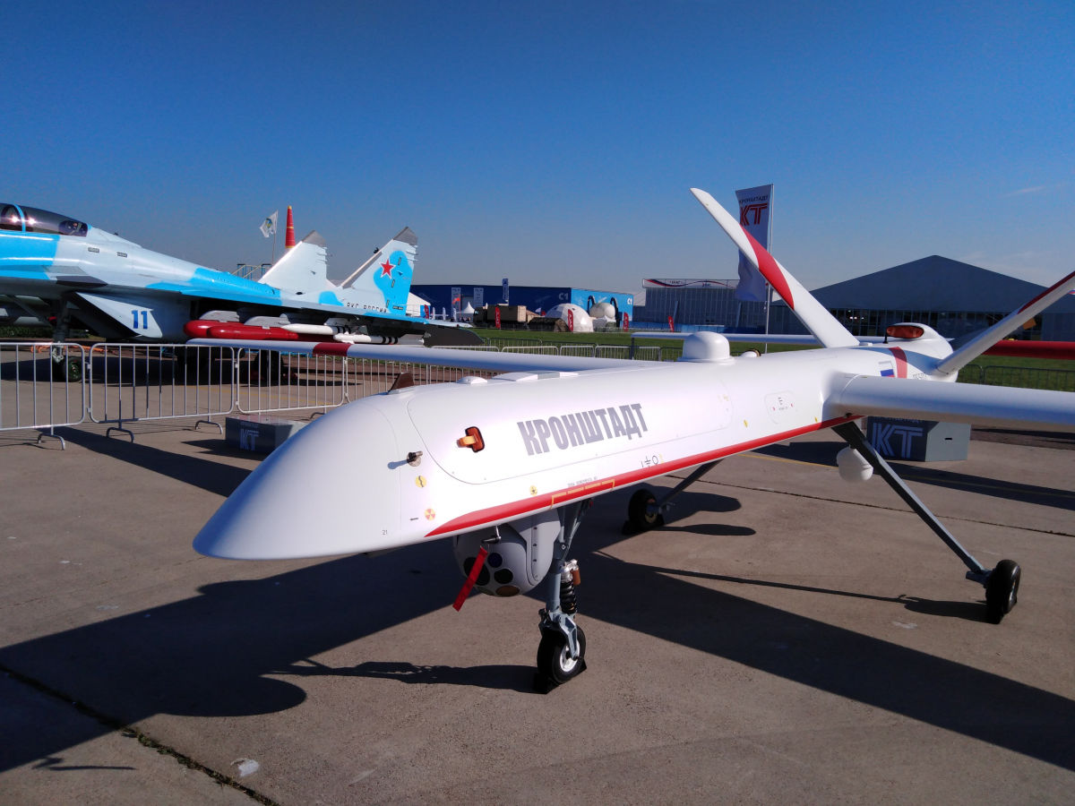 MAKS 2019: Kronstadt introduces its UAV Orion-E deployed in Syria
