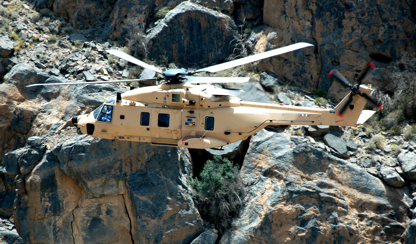 Qatar signs for 28 NH90 helicopters