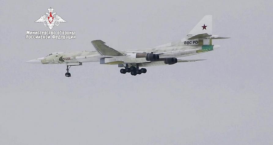 Tupolev conducts first Tu-160M test flight