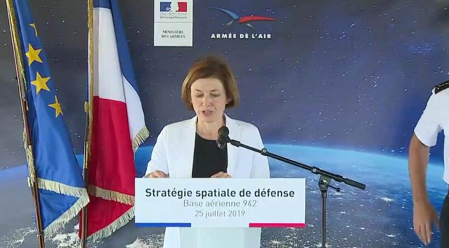 France fleshes out its military space strategy