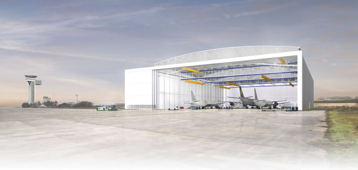 Major expansion of the Marcel Dassault Airport