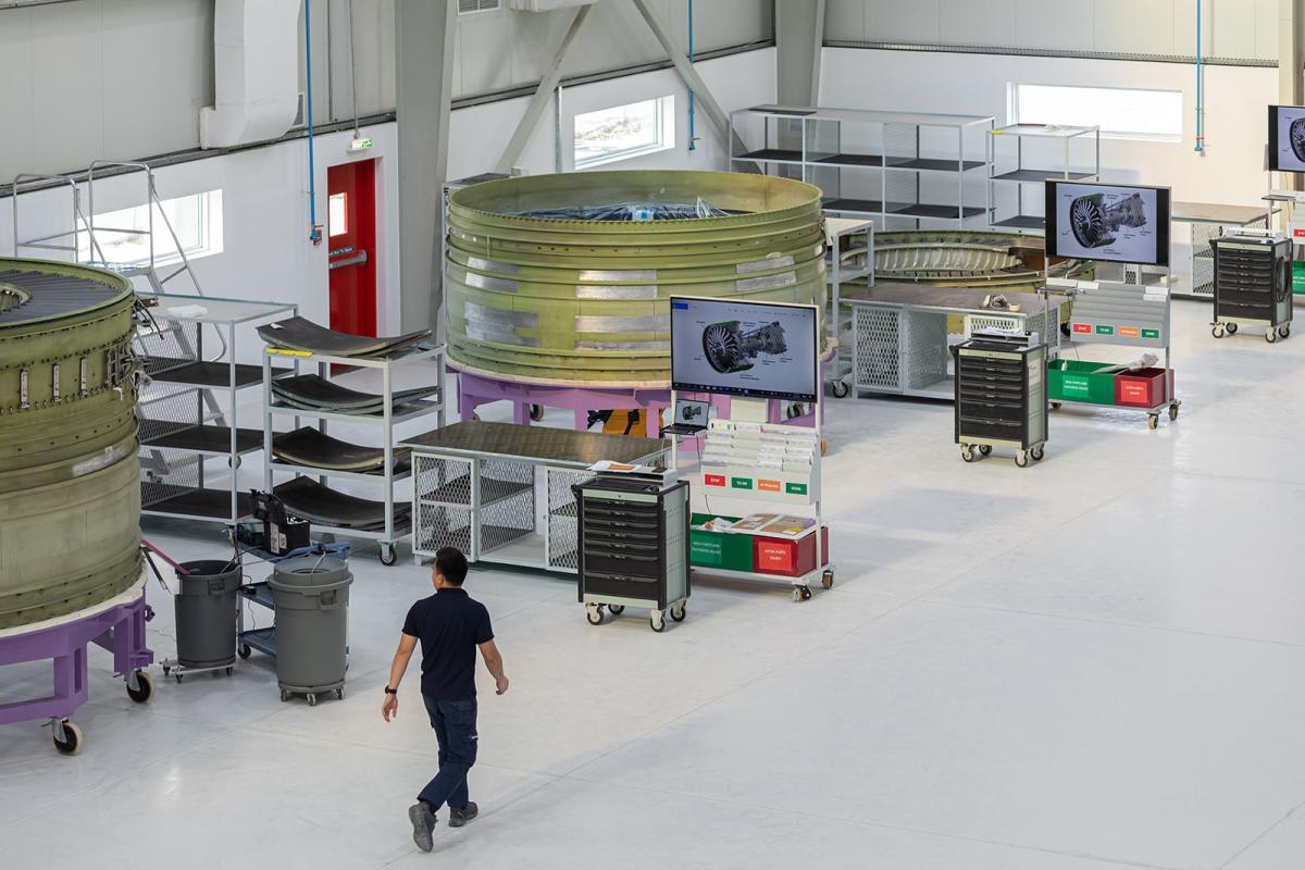 MRO: AMES expands its Dubai facility