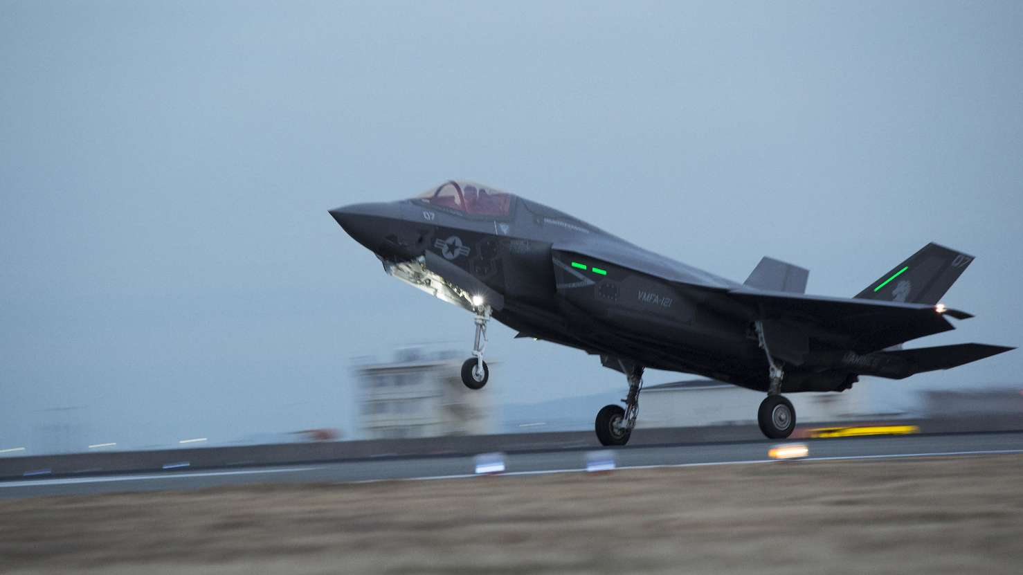 First USMC Joint Strike Fighters arrive in Japan