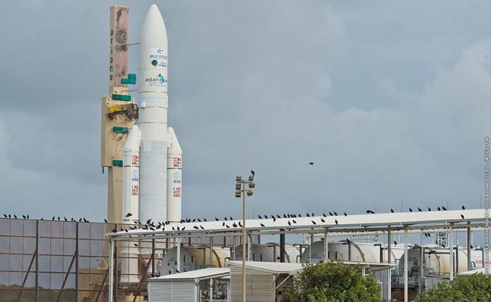 Ariane 5 launches Eutelsat  West A