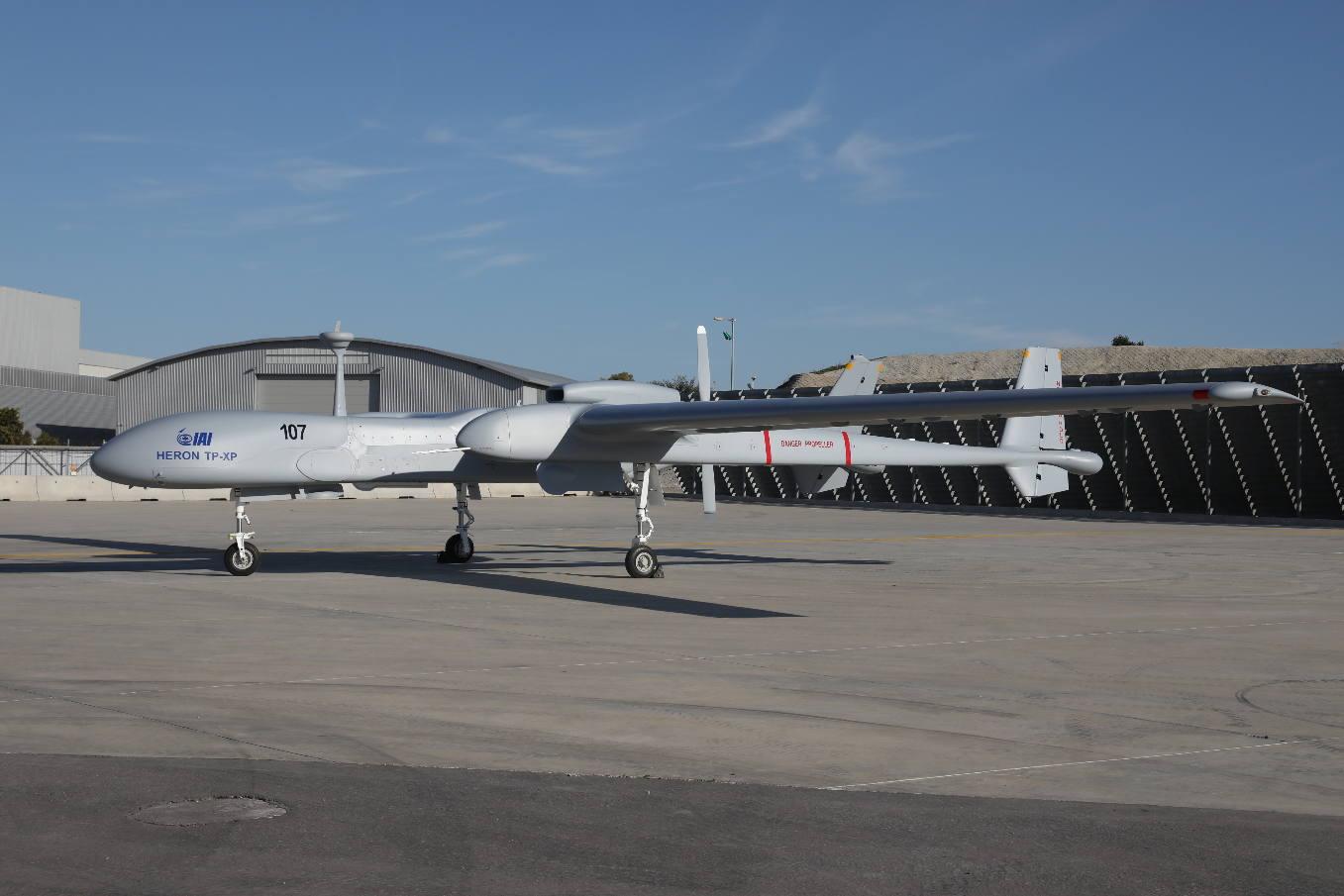 Aero India 2017: IAI to introduce Heron TP-XP UAV