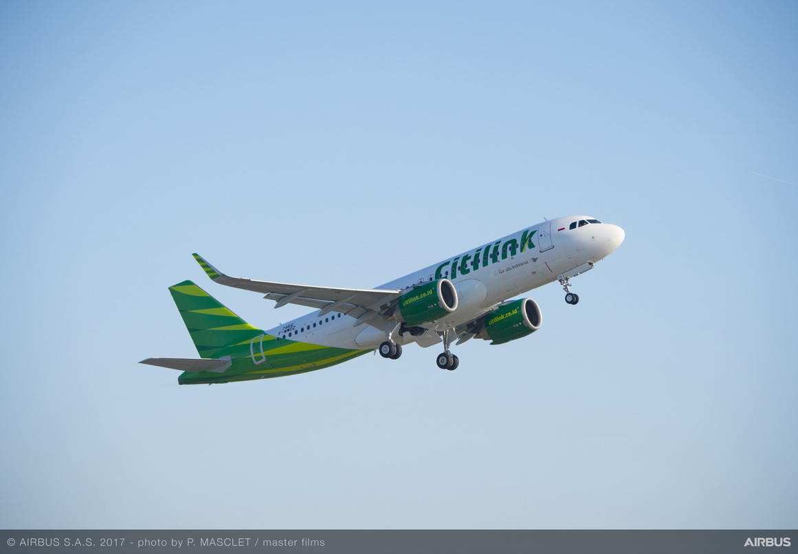 Citilink gets Indonesia's first Airbus A320neo