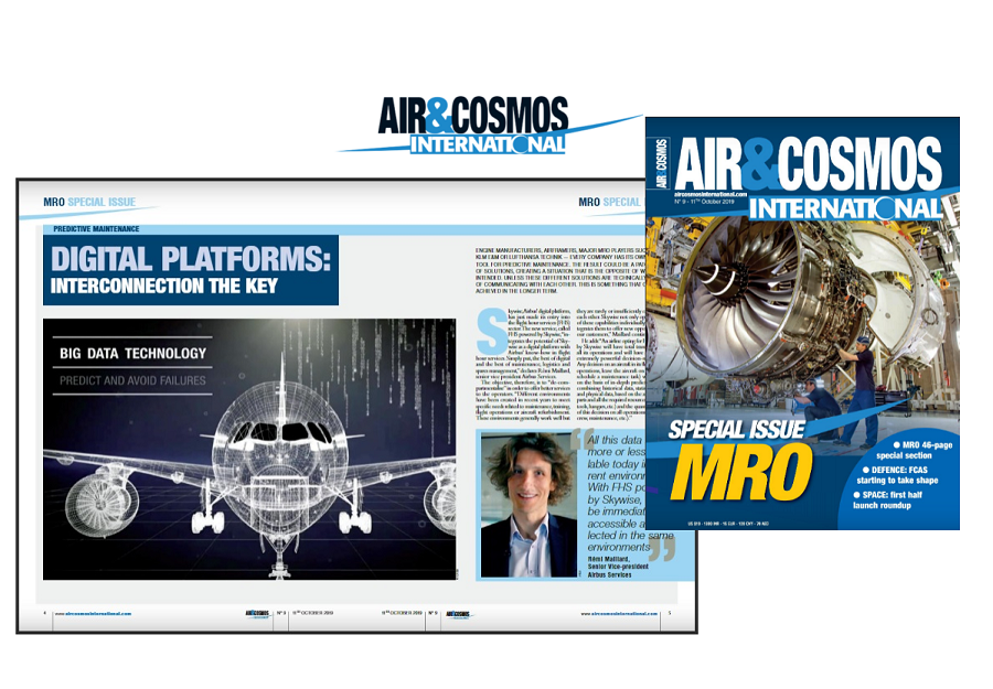 Air&Cosmos Int'l digital mag issue 9 is out now! Featuring MRO special, FCAS, satellite launches.