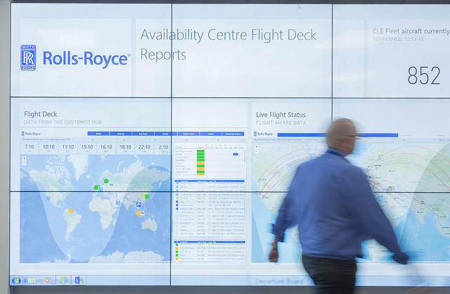 Rolls-Royce opens Airline Aircraft Availability Centre