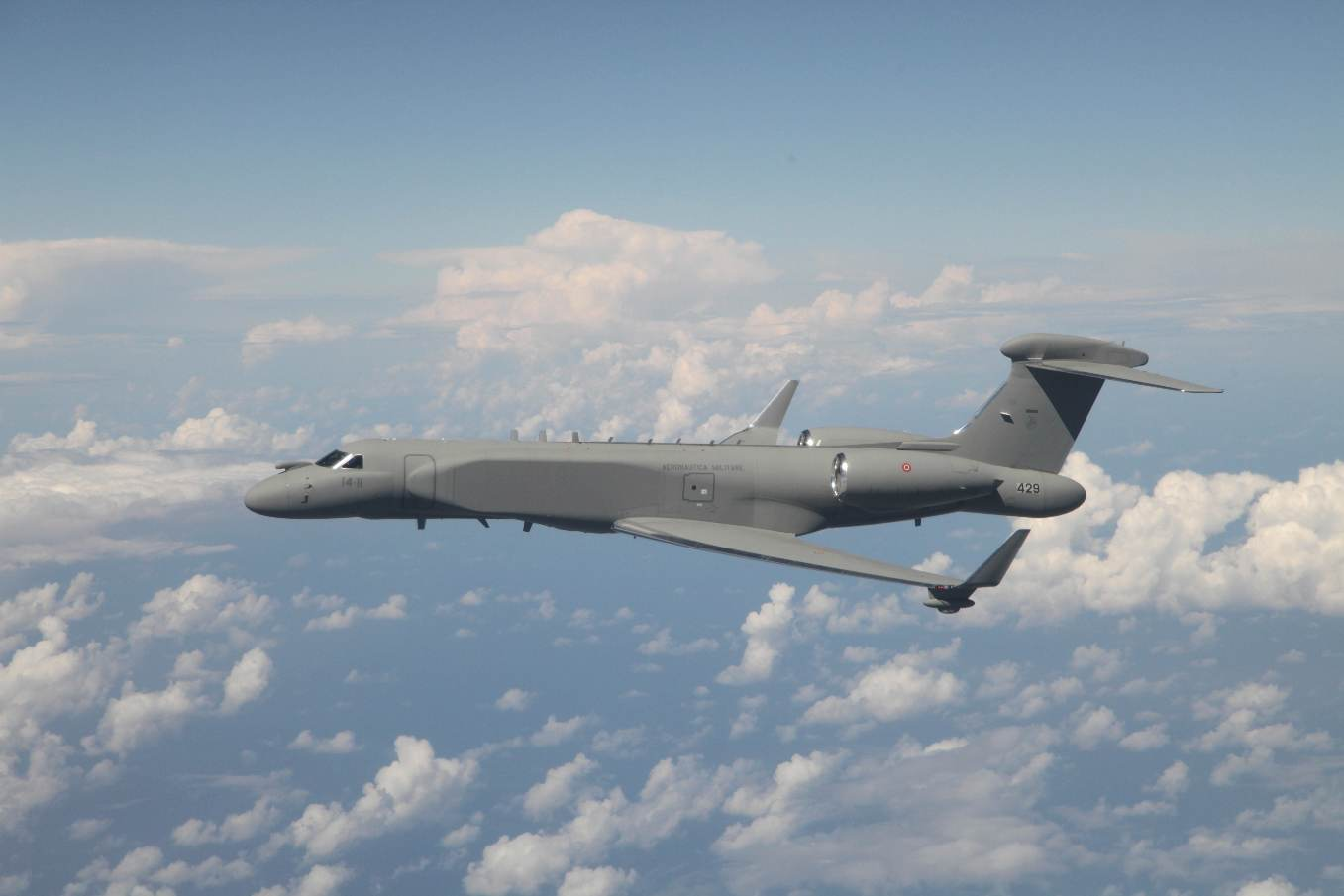 Israel delivers first CAEW G550 to Italian Air Force