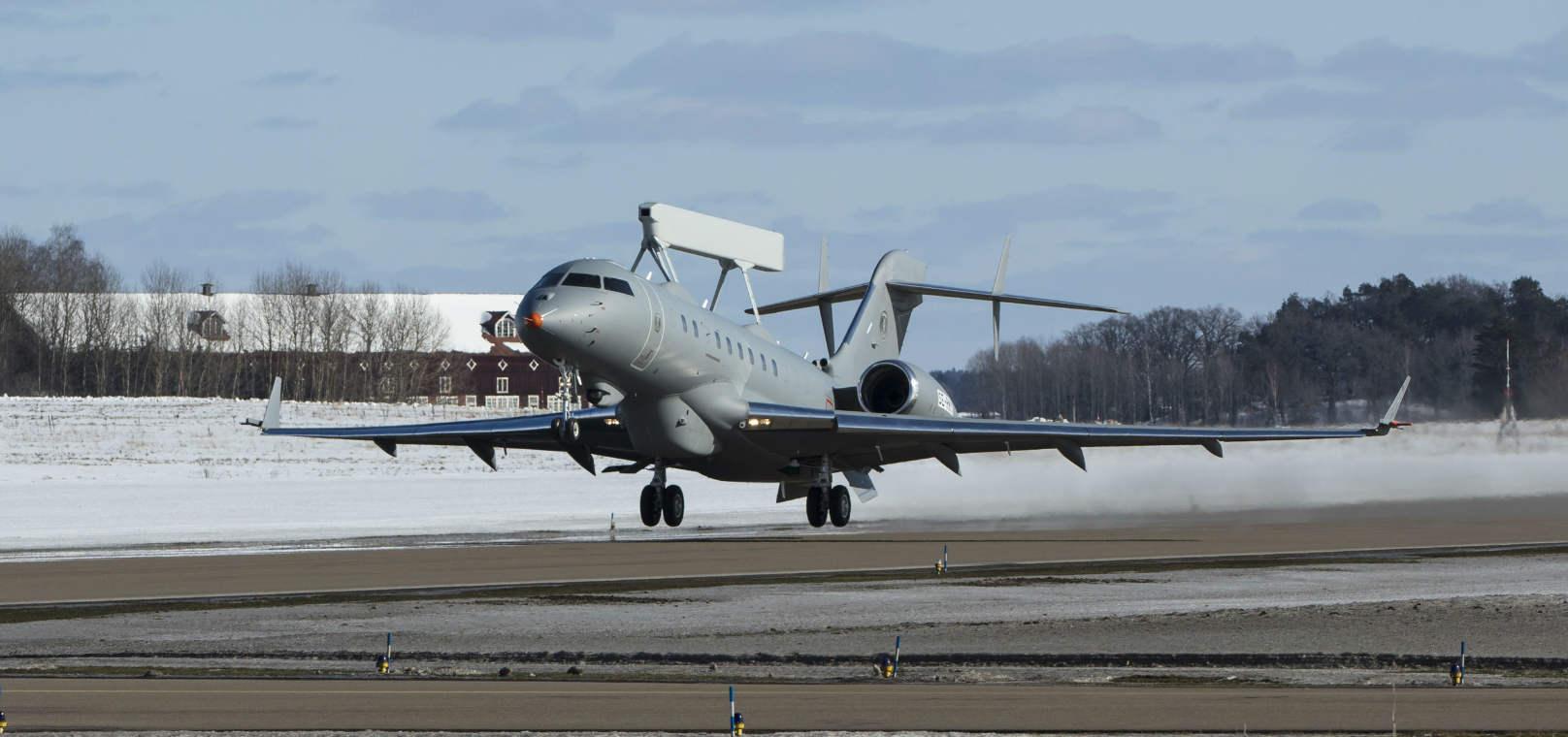Saab GlobalEye makes first flight