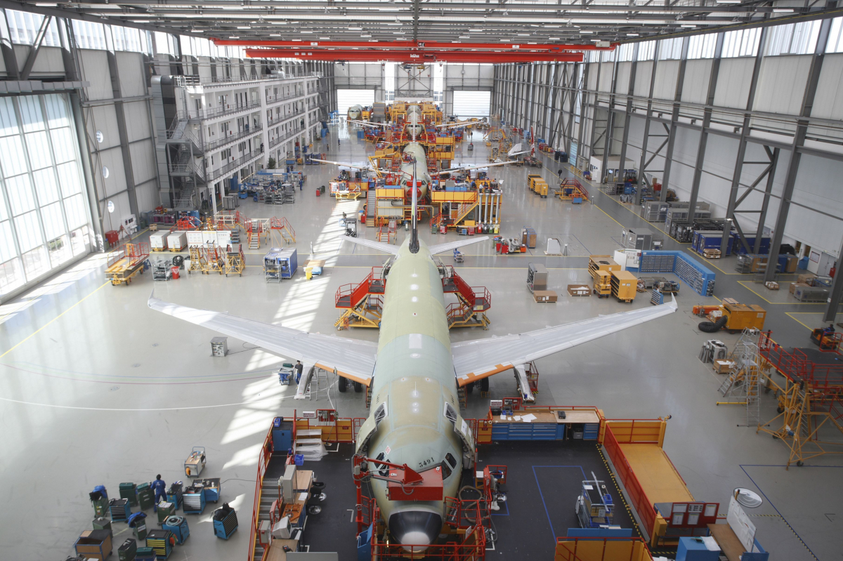 How Airbus prepares for the next move