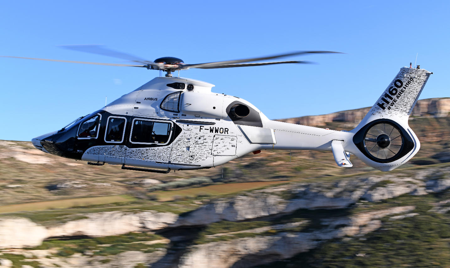 First production Airbus H160 takes off