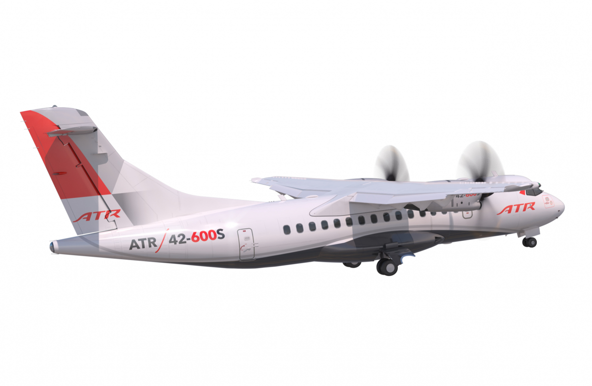 ATR launches the STOL variant of the ATR 42-600