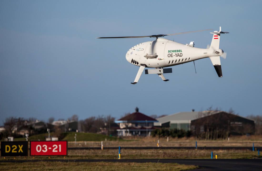 Leonardo AESA radar selected for Camcopter order