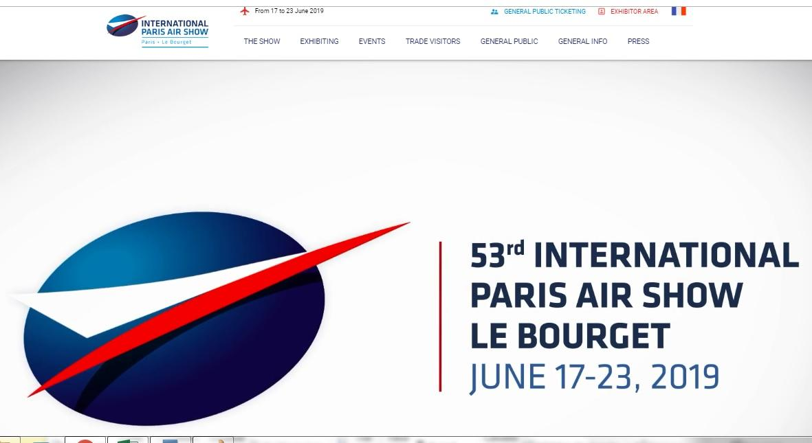 Air&Cosmos Int'l magazine available at the Paris Air Show - Le Bourget