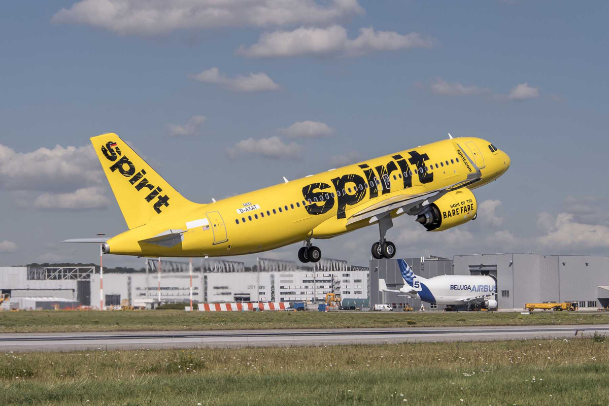 Spirit Airlines finalizes its order for 100 Airbus A320neos
