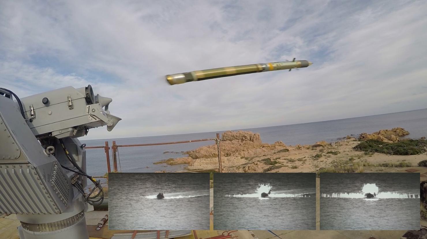 MBDA demonstrates Mistral anti-surface capabilities