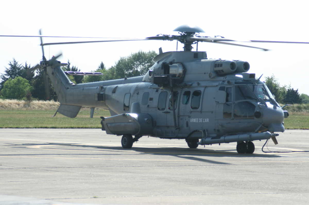 12 to 20 Airbus H225M helicopters more for the French Air Force?