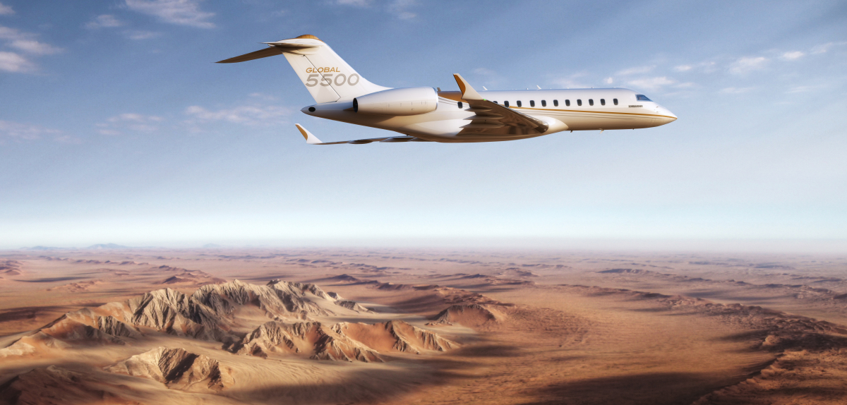 FAA certifies Global 5500 and 6500 aircraft
