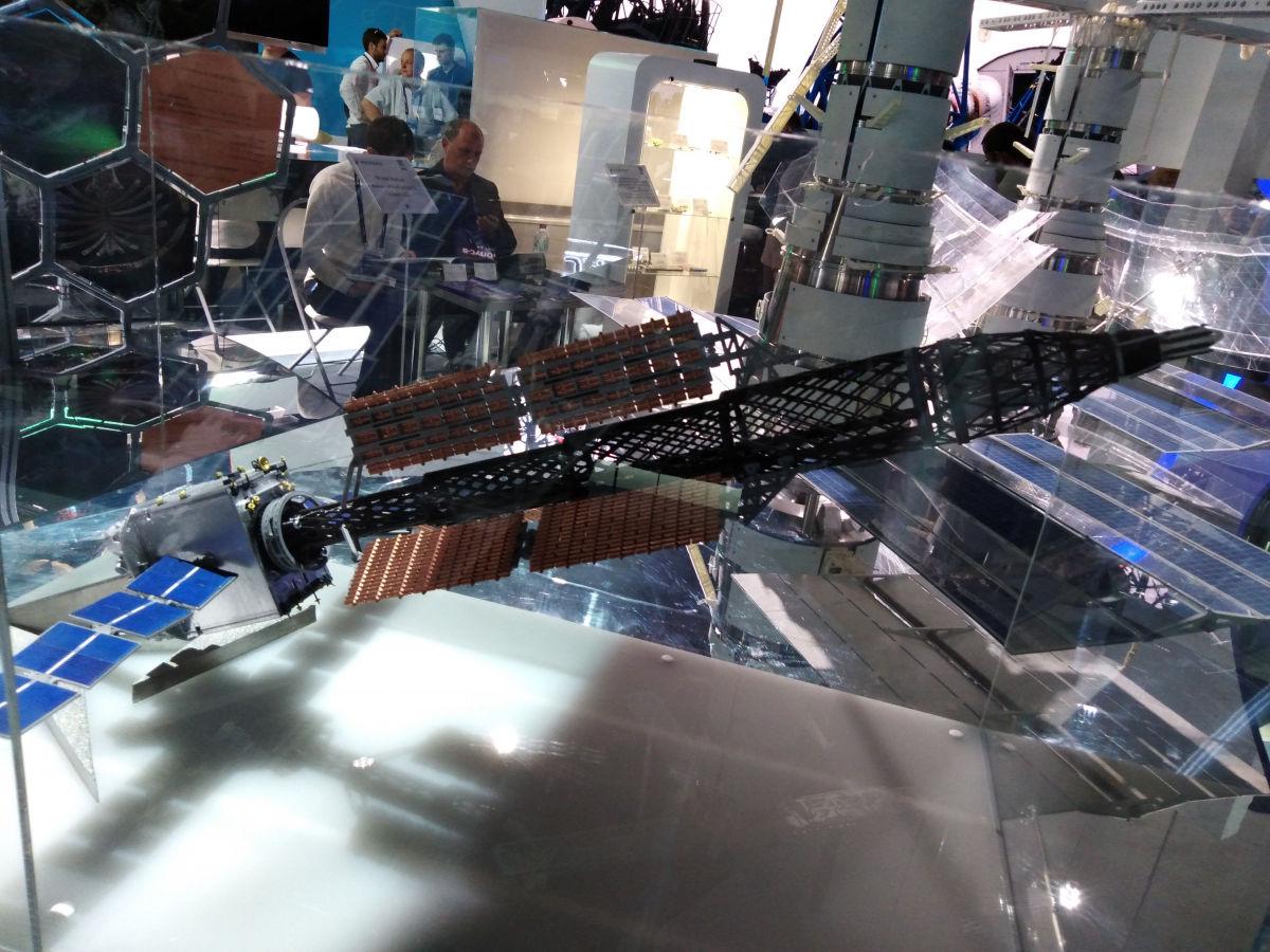 MAKS 2019: an unprecedented Russian space tug