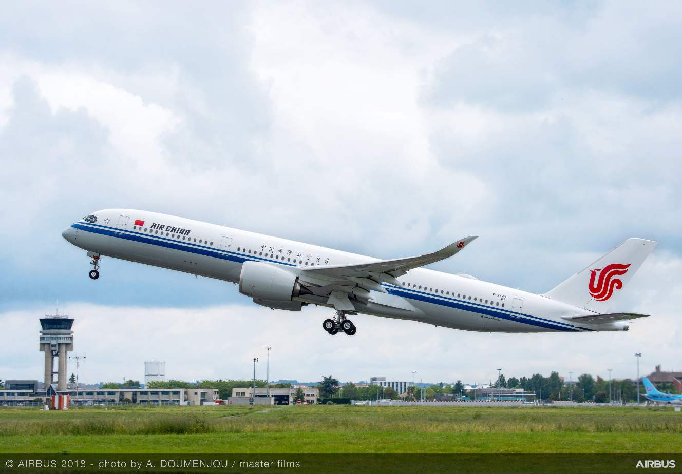 Lufthansa, CASC to support Air China A350s